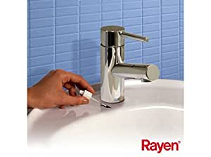 Rayen 6165 Baignoire Email Acrylique Blanc 12 x 2,5 x 2,5 cm