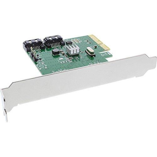 InLine 76696D Schnittstellenkarte/Adapter SATA Eingebaut - Schnittstellenkarten/Adapter (PCIe, SATA, PCI 2.0, 6 Gbit/s, 0, 1) -