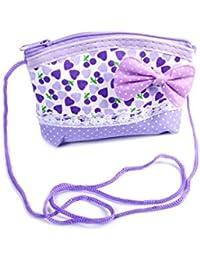 Girl Purse Small Handbag Polka Dot Heart Design Baby Bow Bag