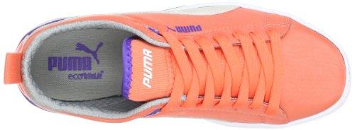 Puma Future Suede Lite Wn's 355960, Sneaker donna Rosso (Rot (fluo peach-liberty blue 04))