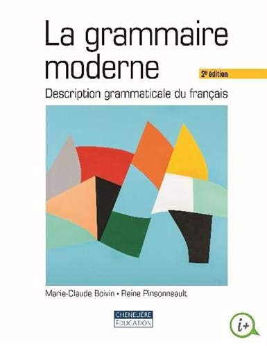 La grammaire moderne : Description grammaticale du français par  (Broché - May 22, 2019)