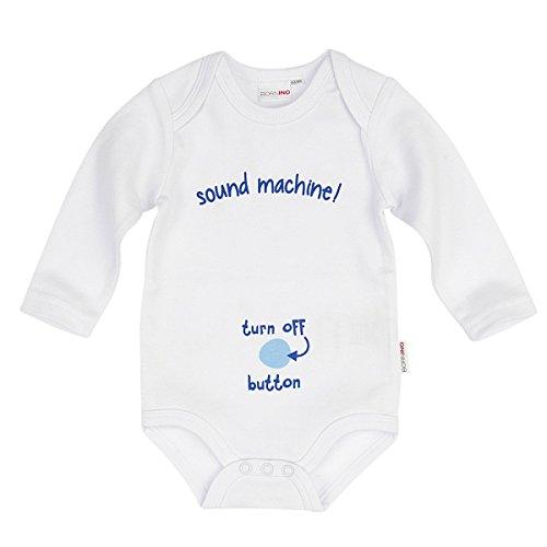 Bornino Le body message à manches longues sound machine bébé 228bb75b41d