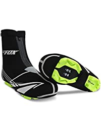 Lixada BATFOX Cubierta Del Zapato SBR Exterior Resistente Al Agua Ciclismo Calzado Protector Femenino Masculino