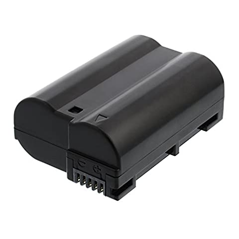 Akku für Nikon D7000, D7100, D7200, D7500, D600, D610, D800, D800E, D810, D810A, D750, D500, Nikon 1 V1 - EN-EL15 EN-EL15a 1600mAh Li-ion