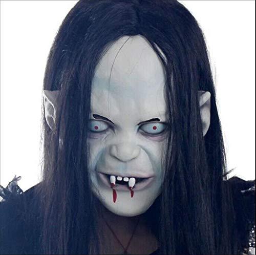 HAOBAO Halloween Zombie Ghost Maske Neuheit Latex Gummi Gruselige Horror Kopf Masken Gesicht Schrecklichen Albtraum für Halloween Kostüm Party Dekoration Zubehör (Tag Der Verfassung Kostüm)