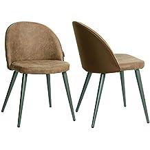 Amazon Fr Chaises Design Scandinave Vintage