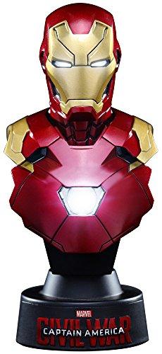 Captain America Civil War Busto 1/6 Iron Man Mark XLVI 11 cm Toys Busts