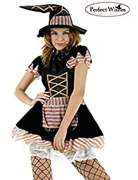 Sexy Glitter witch halloween fancy party dress (Large)
