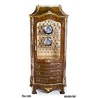 Comparador de precios Casa-Padrino Baroque Display Cabinet 80 x 50 x H. 185 cm - Noble & Sumptuous - precios baratos