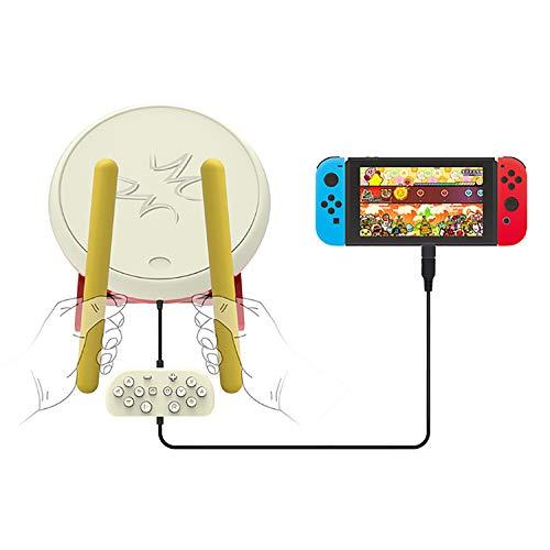 Xianxian88 Videospiel-Controller für Nintendo Switch - Drum Master Controller-Set für Switch, Drumstick Controller Console Gaming-Zubehör für N-Switch-Version