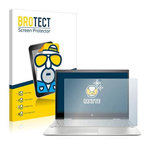 BROTECT Entspiegelungs-Schutzfolie kompatibel mit HP Envy x360 15-cn0700ng (1 Stück) - Anti-Reflex, Matt