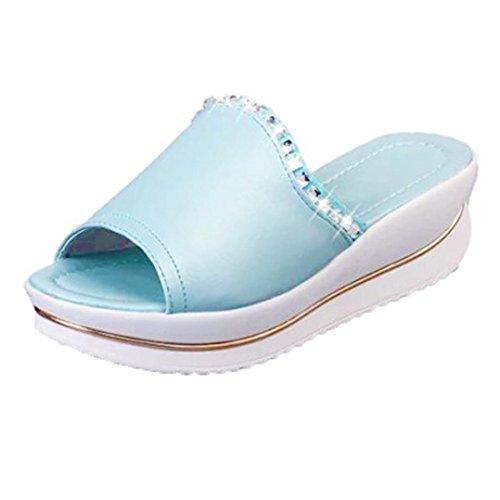 Women Sandals, Summer Comfort Sandals Slippers Women Platform Sandals Shoes Wedges Shoes...