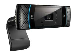 Logitech TV Cam for Skype (HD 720p, kompatibel mit Skype-fähigen Panasonic TVs) schwarz