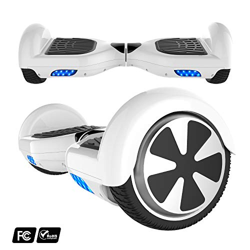 Preisvergleich Produktbild MARKBOARD 6, 5zoll Hoverboard Elektro Scooter Selfbalance Scooter für Kinder,  700W Motor (6, 5weiß)