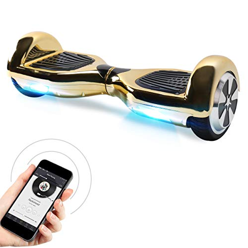 "Hoverboard, 6.5"" Self Balance Scooter mit 2 * 350W Motor, LED Lights Elektro Scooter"