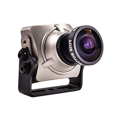 RunCam Swift 2 Rotor Riot Version One-Touch-Szene Einstellung OSD Mic Niederspannungs-Alarm-CCD FPV-Kamera Silber -