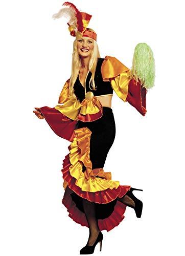 Unbekannt Stamco - Erwachsenen Kostüm Rumba Tänzerin (Brasilien Motto Kostüm)