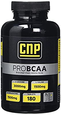 CNP Pro BCAA Branch Chain Amino Acids Nutrition Tablets 180 Tablets from CNP Professional