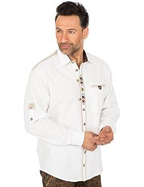 orbis Textil Trachtenhemd Weisss