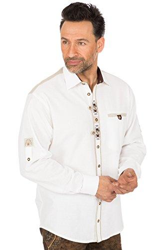 Preisvergleich Produktbild Orbis Trachtenhemd Schlupfform 320180-1011 Weiss, 2XL
