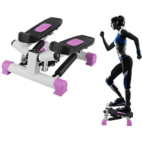 bingh otfire 2in1Stepper Fitness Bicicleta Estática Fitness Dispositivo con Power Ropes Mini Cross Trainer Computer drehstepper & sidestepper para Principiantes & Home Trainer preisvergleich