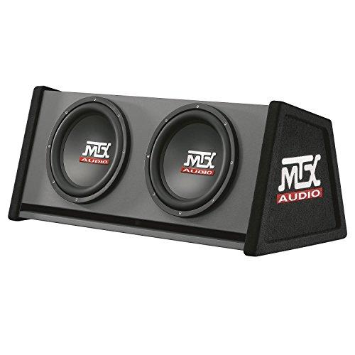 'MTX Box Reflex Road Thunder mtxrte12X 2DV, 2x 12, 700W RMS, Schwarz