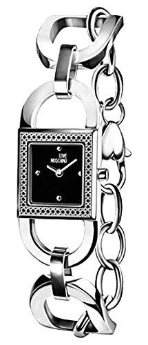 Montre Moschino Quartz - Affichage analogique Bracelet Acier Inoxydable et Cadran MW0479