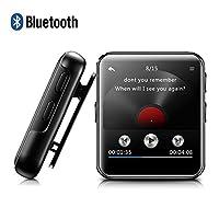 """♥ Perché scegliere il lettore MP3 BENJIE?   ✔ Ampio display a colori HD: dotato di un grande display 2,5 """"da 2,5"""" ✔ Funzione Bluetooth 4.0, si collega facilmente e più rapidamente con cuffie, cuffie o altoparlanti Altoparlanti compatibili Ve..."""