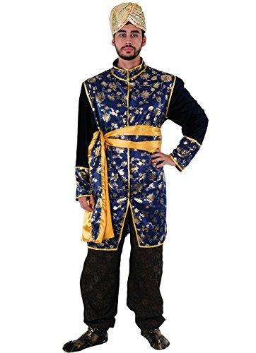 Imagen de disfraz príncipe hindú