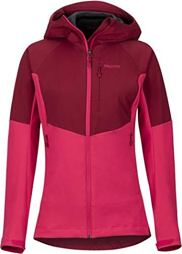 Marmot ROM Jacket Women Sienna red/Disco pink Größe L 2019 Funktionsjacke