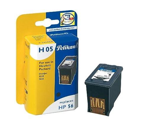 Pelikan H05 Cartouche rechargée compatible pour HP 56 C6656A 19 ml Noir