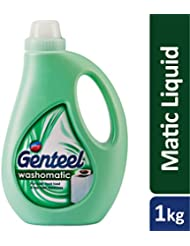 Godrej Genteel Washomatic - Liquid Detergent for Top and Front Load Washing Machine (1kg)