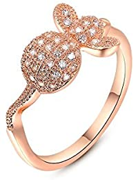 Carina Turtle Fashion Designer Diamond Designer 18k Gold Plated Swarovski Crystal Fashion Finger Ring For Women...