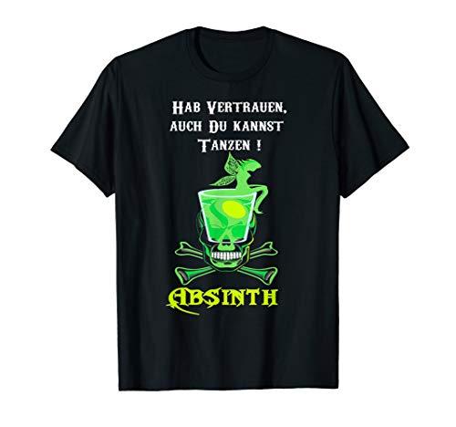 Absinth,auch Du kannst tanzen,T-Shirt Fee Likör,Bar -