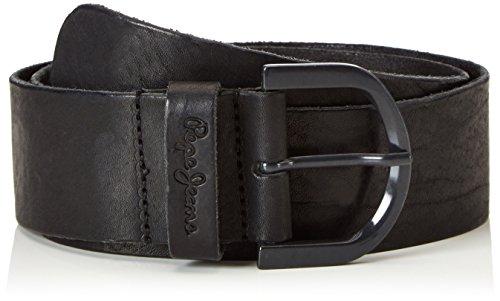 Pepe Jeans Damen Venus Belt Gürtel, Schwarz (Black), 80 cm (Herstellergröße: 80)