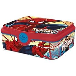 Box Colazione Spiderman DECOR Scatola Spuntino Lunchbox Portamerenda Porta SANDWICH Bambini Scuola
