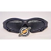 Gafas de Malla NP Pro, Sombras Tácticas Airsoft, Gafas de Protección para los Ojos, Brille Occhiali, y Patch by First and Only Airsoft, Negro