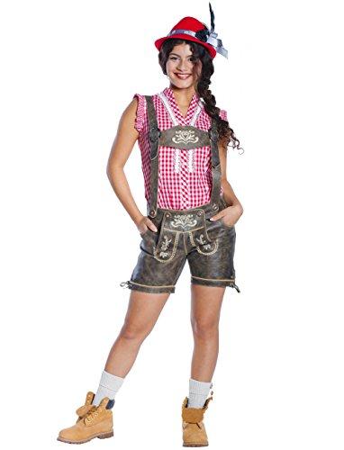 Damen Trachten Lederhose Luna aus 100% (Motto Kostüme 007)
