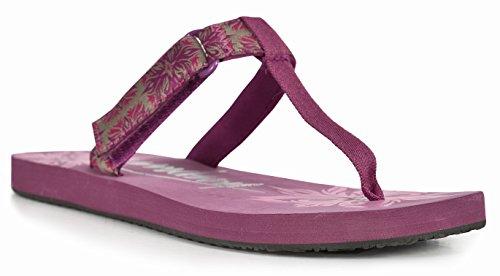 Trespass Damen Panora Flip Flops Pink (Azalea)