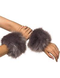 PICCOLI MONELLI Collo pelliccia sintetica per cappotti con pelliccetta in  eco pelliccia effetto molto reale ec273724fad