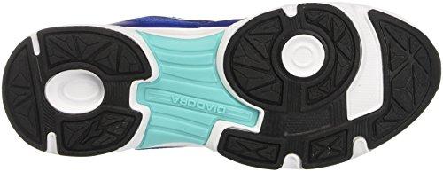 Diadora Shape 7, Chaussures de Course Mixte Adulte Bleu (Blu Profondo/bianco)