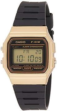 Casio Casual Watch Digital Display Automatic for Men F-91WM-9ADF