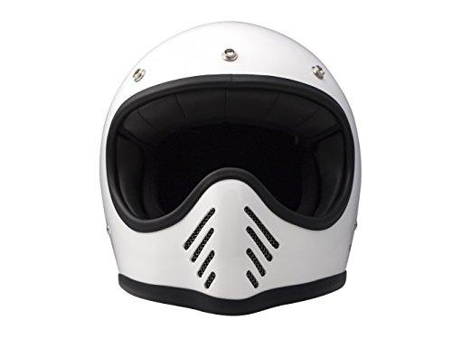 DMD 1ffs40000wh03Casco Moto, Blanco, M