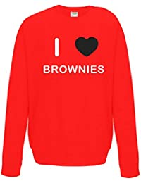 BadgeBeast.co.uk I Love Brownies - Camisa de Entrenamiento