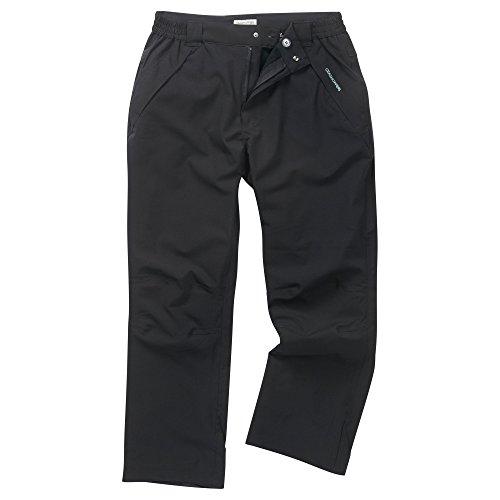Craghoppers, Pantaloni Uomo Steall Stetch Trouser Long Leg, CMW633L 800 Nero