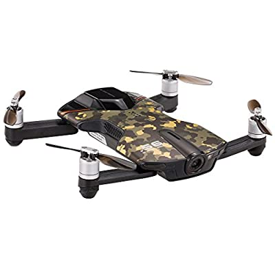 Goolsky WINGSLAND S6 Wifi FPV Selfie Smart Drone With 4K 13MP HD Camera Optical Flow GPS Pocket RC Quadcopter by Goolsky