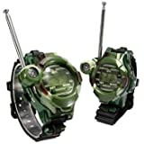 PeachFYE 2Pcs Kids Child Children Toy Outdoors Games Wrist Watch Walkie Talkie Girls