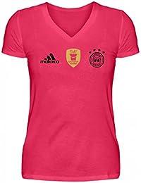 Hochwertiges V-Neck Damenshirt - DBB - Deutscher Bierbund Mallorca Shirt