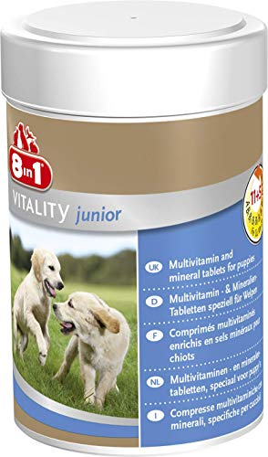 8 in 1 Vitamine per Cani Cuccioli - 185 ml
