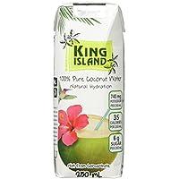 King Island Getränk Kokoswasser, 36er Pack (36 x 250 ml)